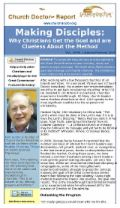 Making Disciples: January/February 2014 Church Doctor Report