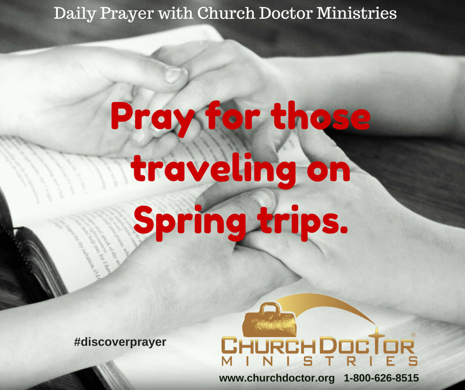 Daily Prayer — March 19, 2016