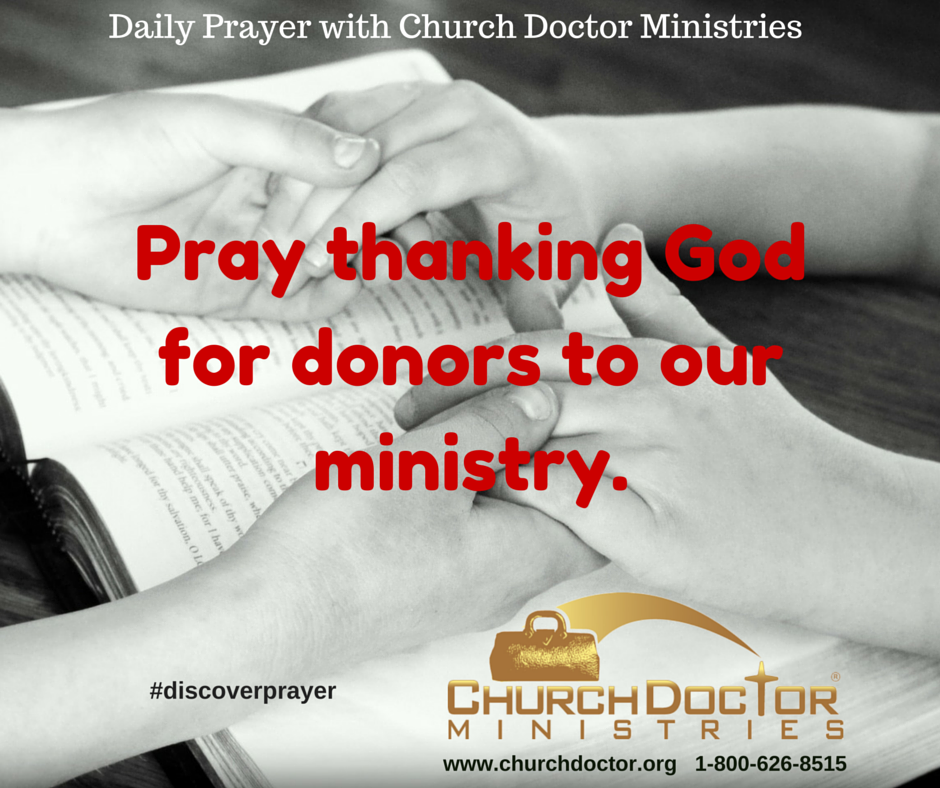 Daily Prayer — March 23, 2016