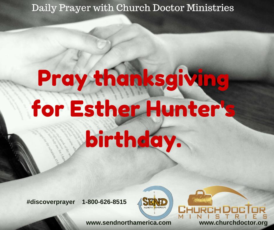 Daily Prayer — May 28, 2016