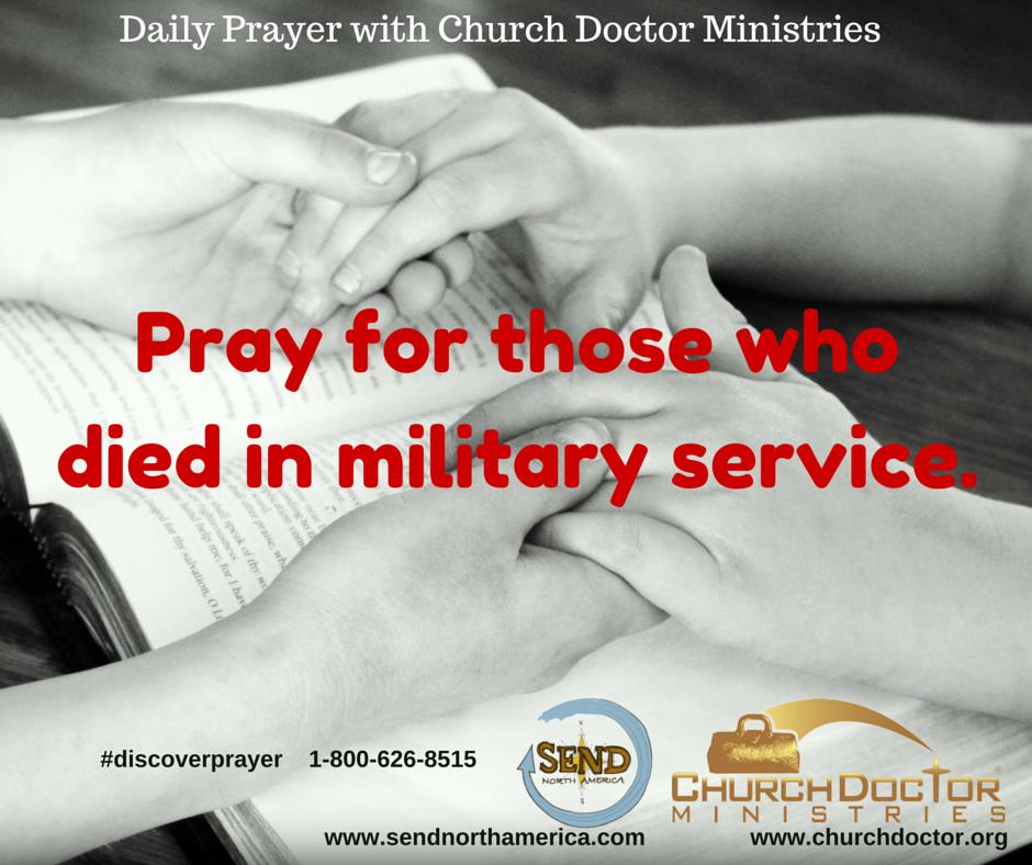 Daily Prayer — May 30, 2016