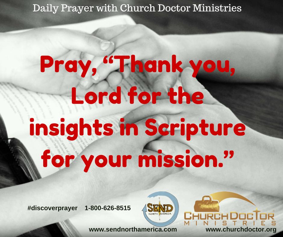 Daily Prayer — June 23, 2016