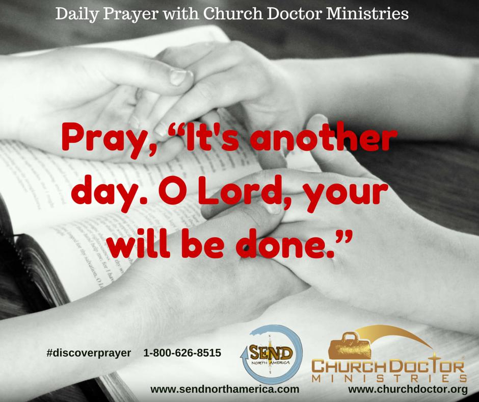 Daily Prayer — June 26, 2016