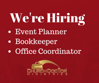 We're Hiring: Event Planner, Bookkeeper, Office Coordinator