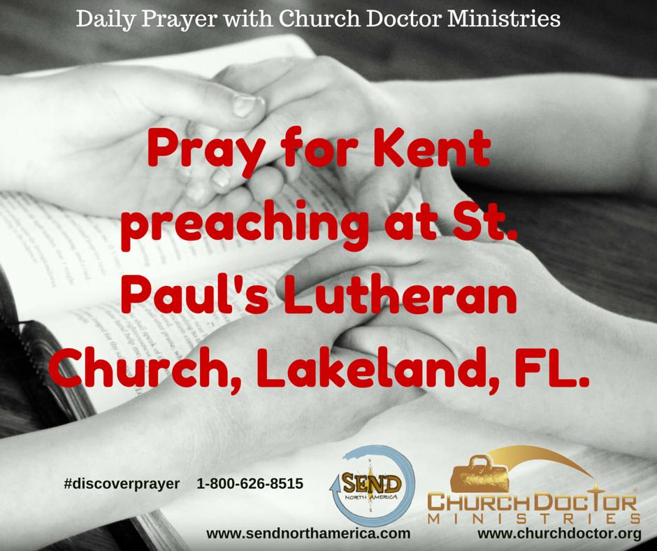 Daily Prayer — July 24, 2016